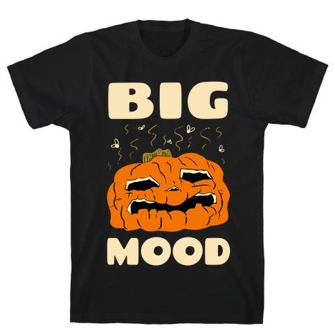 Big Mood Rotting Pumpkin T-Shirt