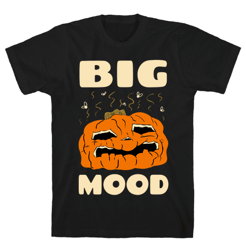 Big Mood Rotting Pumpkin Mens/Unisex T-Shirt