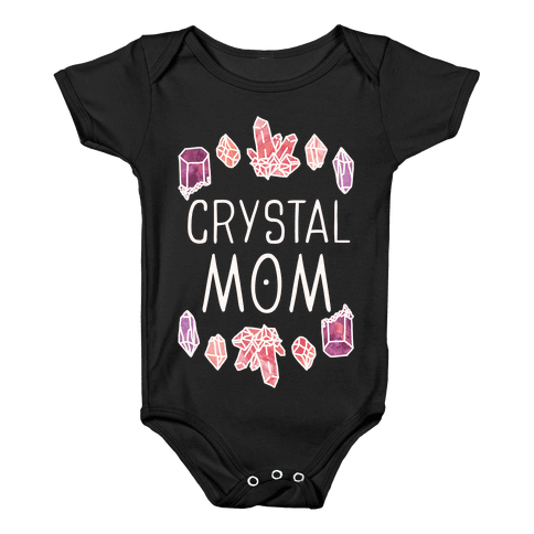 Crystal Mom Baby Onesy
