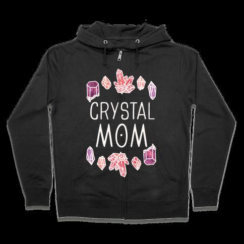 Crystal Mom Zip Hoodie