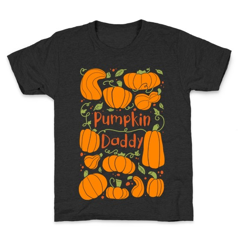 Pumpkin Daddy Kids T-Shirt