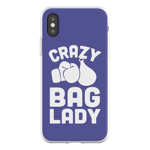 Crazy Bag Lady Phone Flexi-Case