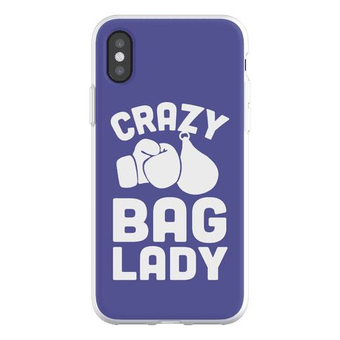 Crazy Bag Lady Phone Flexi-Case