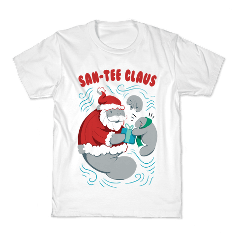 San-tee claus Kids T-Shirt