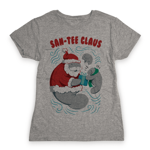San-tee claus Womens T-Shirt