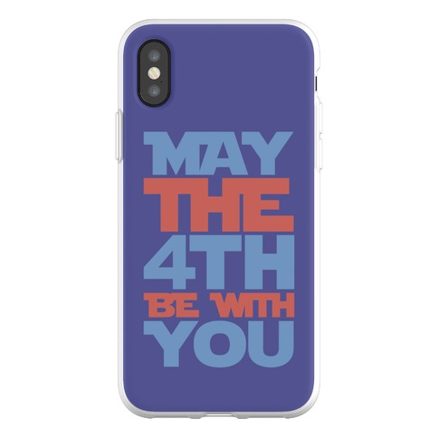 May The 4th Be With You Parody Phone Flexi-Case