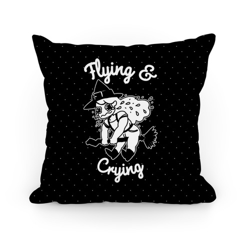 Flying & Crying Pillow