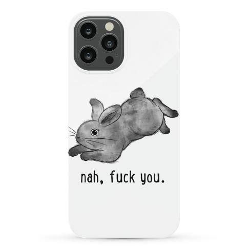 Sassy Cute Bunny  Phone Case