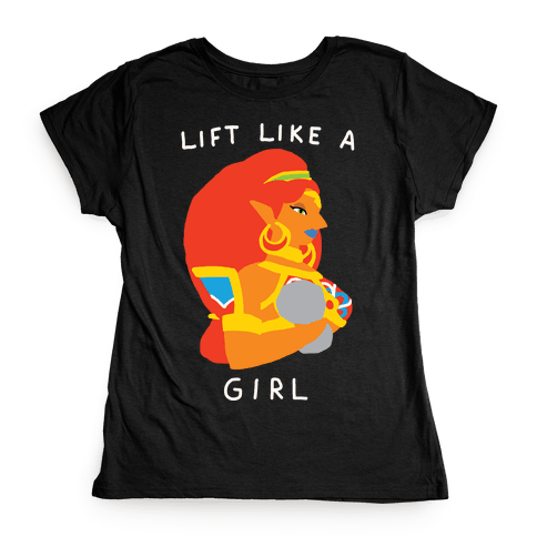 Lift Like A Girl Womens T-Shirt