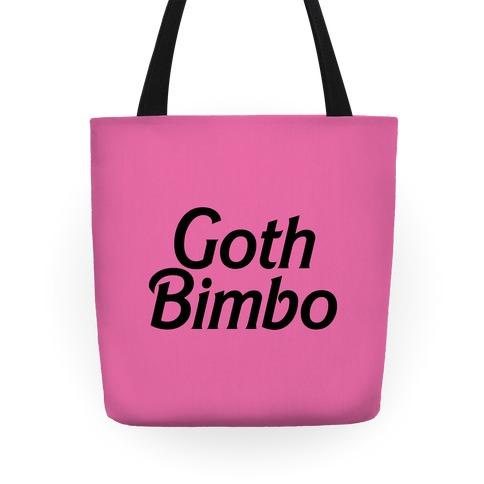 Goth Bimbo Tote