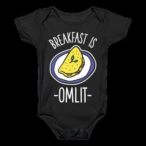 Breakfast is Omlit Baby Onesy