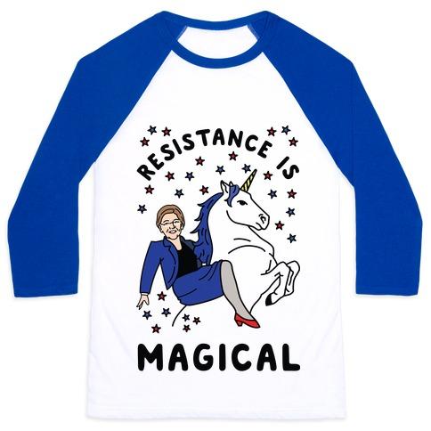 Resistance is Magical Baseball Tee