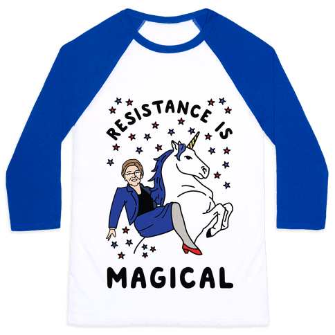 Resistance is Magical Baseball Tee