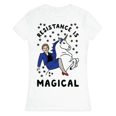 Resistance is Magical Womens T-Shirt