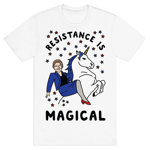 Resistance is Magical Mens T-Shirt