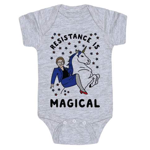 Resistance is Magical Baby Onesy