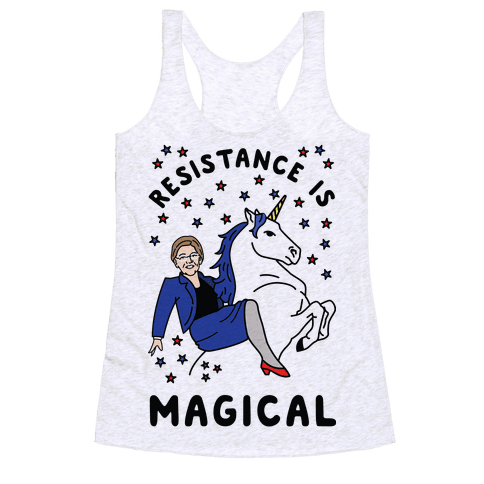 Resistance is Magical Racerback Tank Top