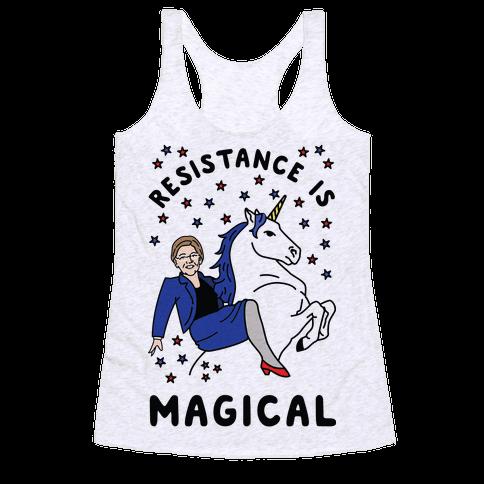 Resistance is Magical Racerback Tank Top