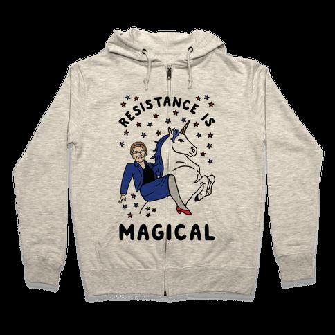 Resistance is Magical Zip Hoodie