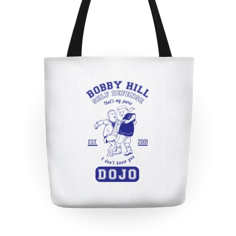 Bobby Hill Self Defense Dojo Tote