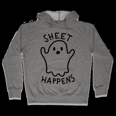 Sheet Happens Ghost Hooded Sweatshirt