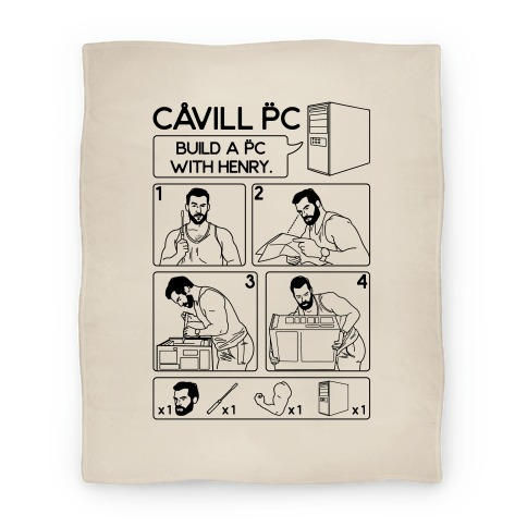 Cavill PC Parody Blanket