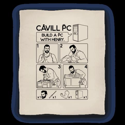 Cavill PC Parody Blanket