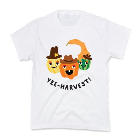 Yee-Harvest! Kids T-Shirt