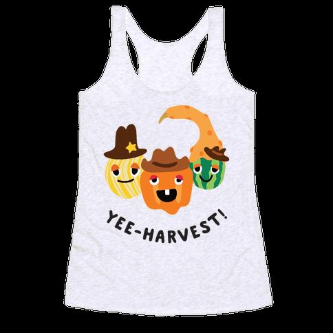Yee-Harvest! Racerback Tank Top