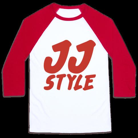 JJ Style  Baseball Tee