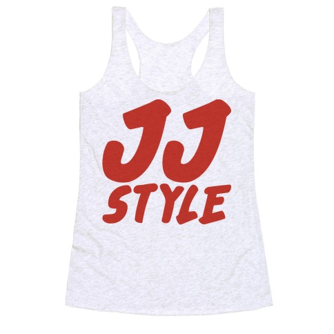 JJ Style Racerback Tank Top