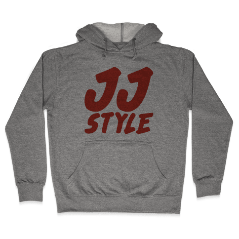 JJ Style  Hooded Sweatshirt