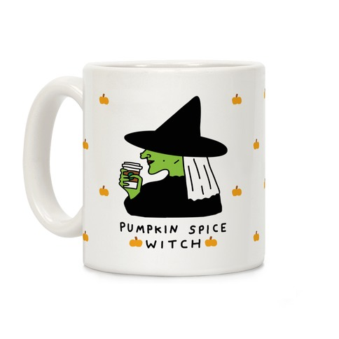 Pumpkin Spice Witch Coffee Mug
