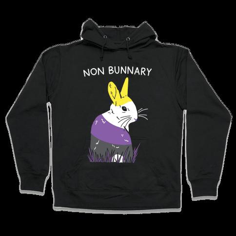 Non Bunnary Hooded Sweatshirt