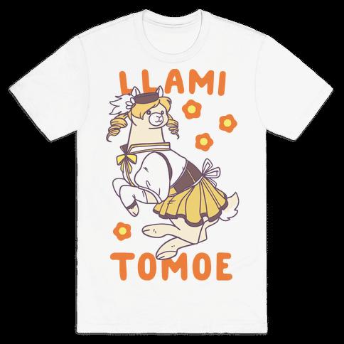 Llami Tomoe Mens T-Shirt