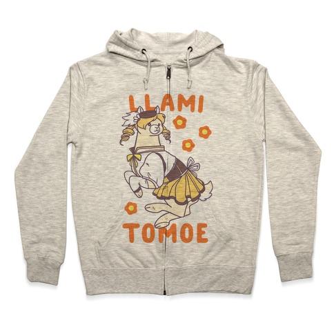 Llami Tomoe Zip Hoodie