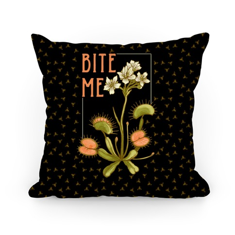 Bite Me Venus Flytrap Pillow