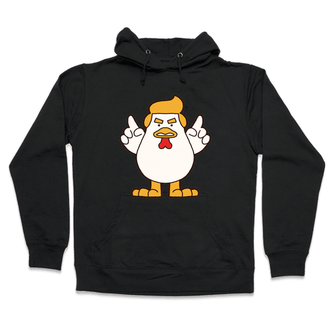 Kawaii Trump Chicken Hooded Sweatshirt