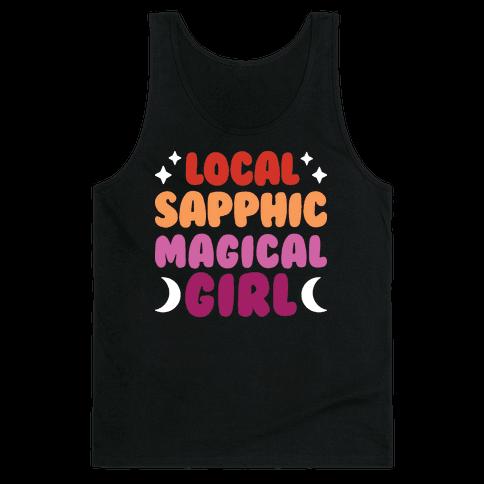 Local Sapphic Magical Girl Tank Top