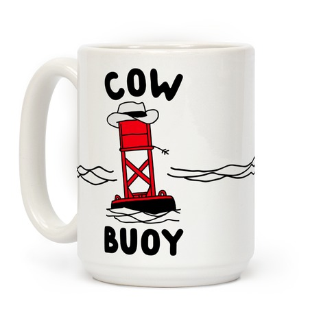 Cow Buoy Coffee Mug