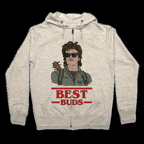 Best Buds Steve Zip Hoodie