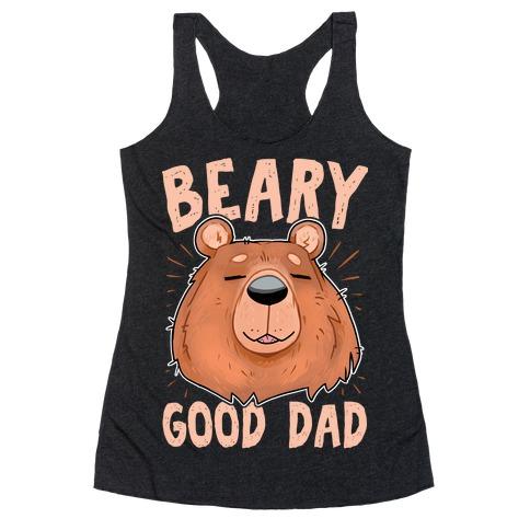 Beary Good Dad Racerback Tank Top