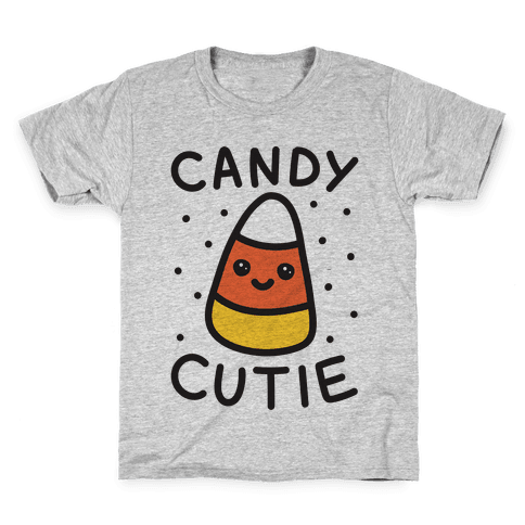 Candy Cutie Candy Corn Kids T-Shirt