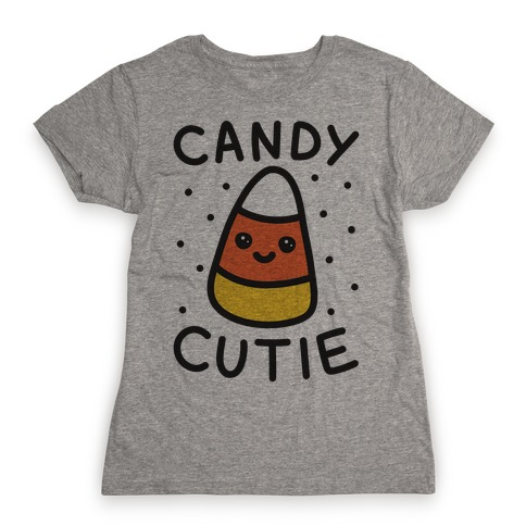 Candy Cutie Candy Corn Womens T-Shirt