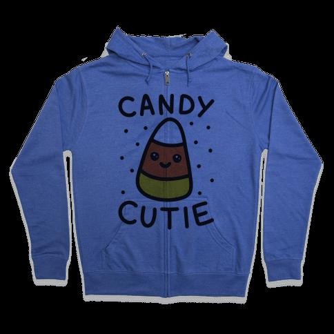 Candy Cutie Candy Corn Zip Hoodie