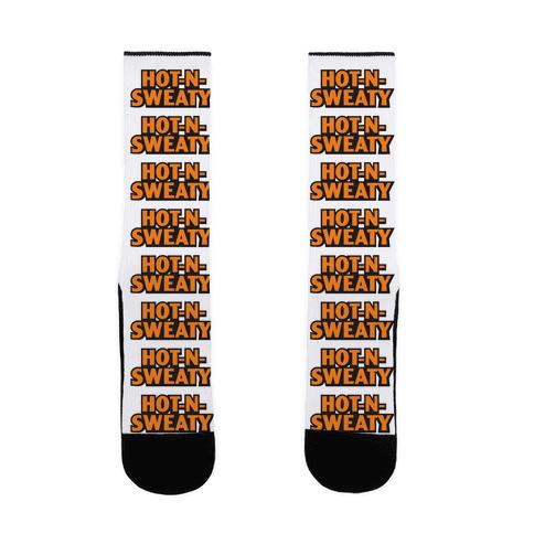 Hot-N-Sweaty Parody Sock