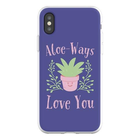 Aloe-Ways Love You Phone Flexi-Case