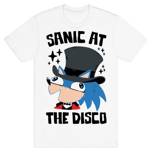 Sanic At The Disco T-Shirt