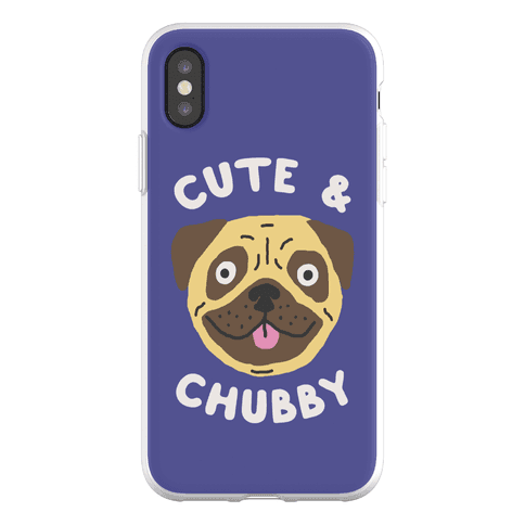 Cute And Chubby Phone Flexi-Case