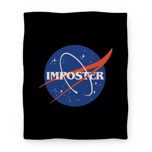 Imposter Nasa Logo Parody Blanket